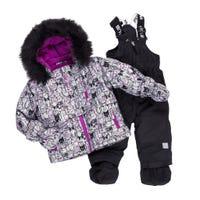 Cats 2pcs Snowsuit 12-24m