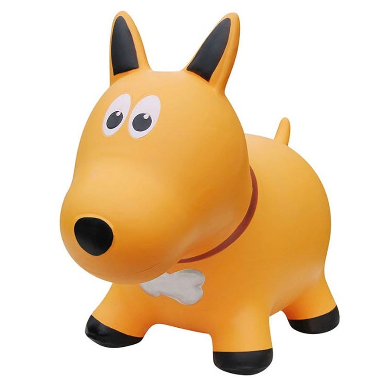 Farm Hoppers Jumping Animals - Yellow Dog