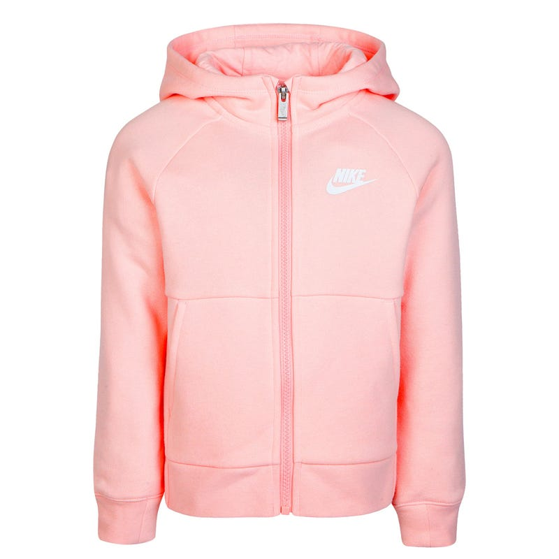 Fleece Full Zip Hoodie 4-6x