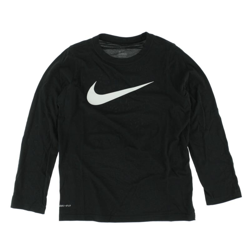 T-Shirt à Manches Longues Nike Swoosh 8-16ans