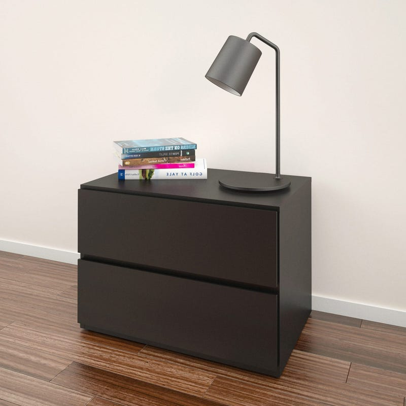 Avenue Nightstand - Black
