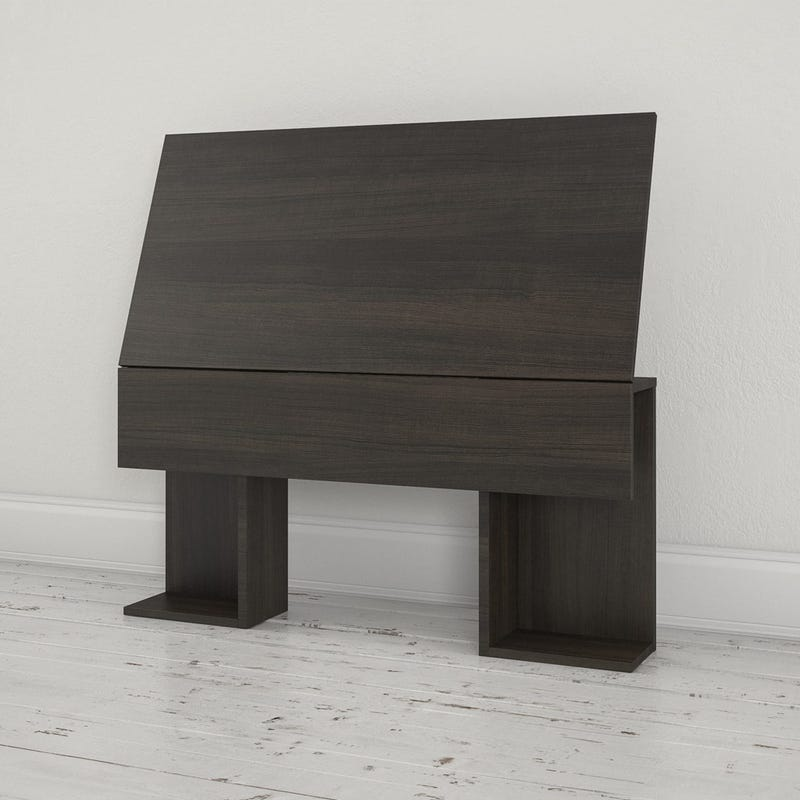 Allure Twin Size Headboard - Ebony