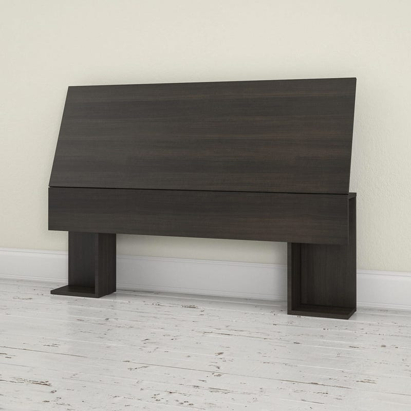 Allure Full Size Headboard - Ebony