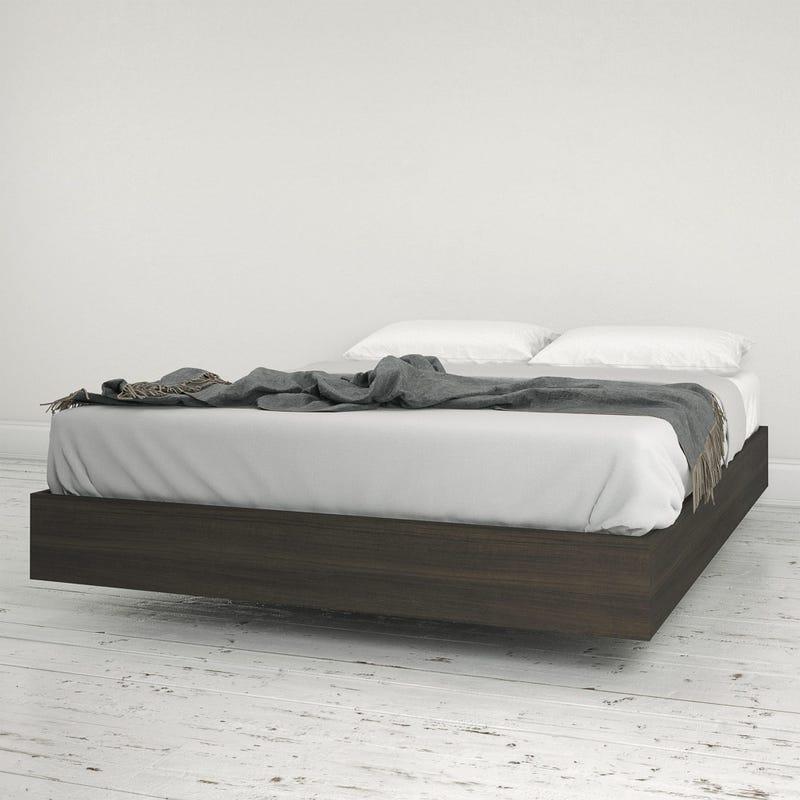 Jet Full Size Platform Bed - Ebony