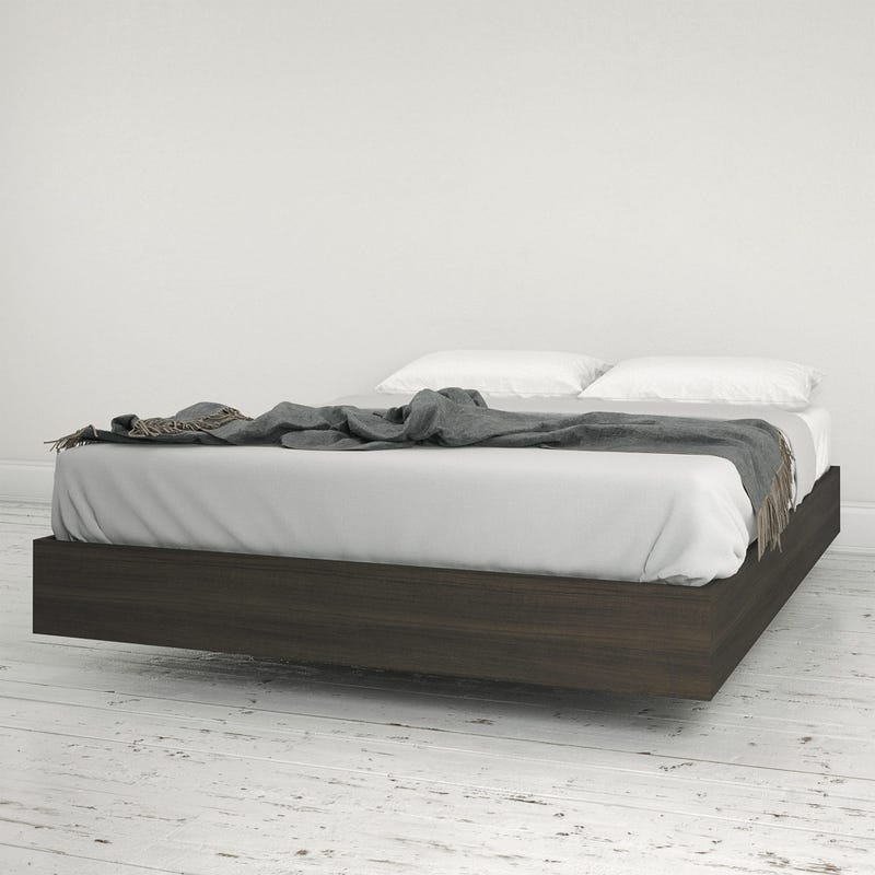 Jet Full Size Platform Bed - Ebony