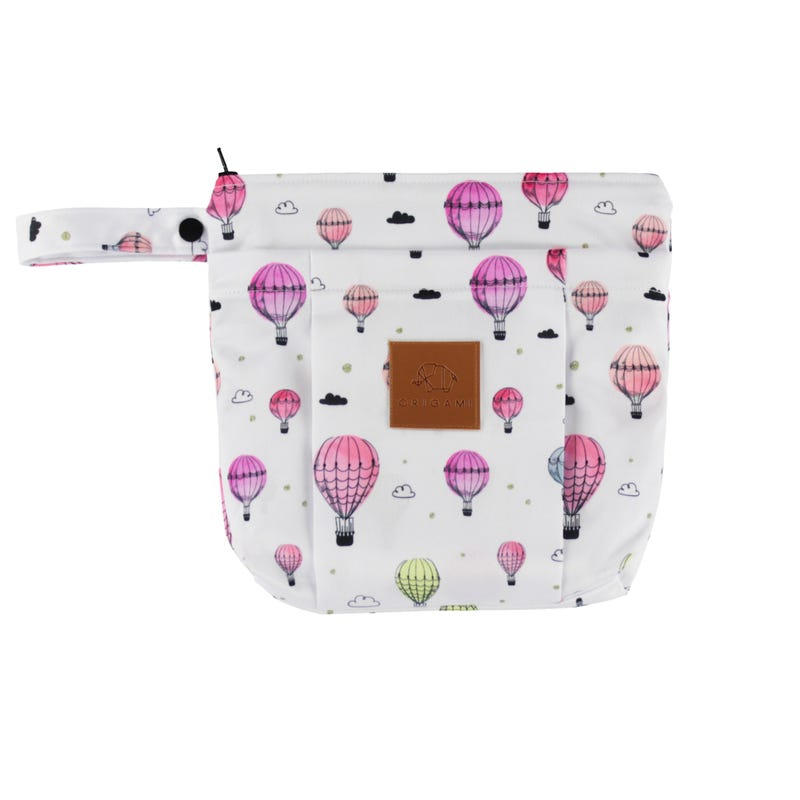 Small Clutch Bag - Hot Air Balloons