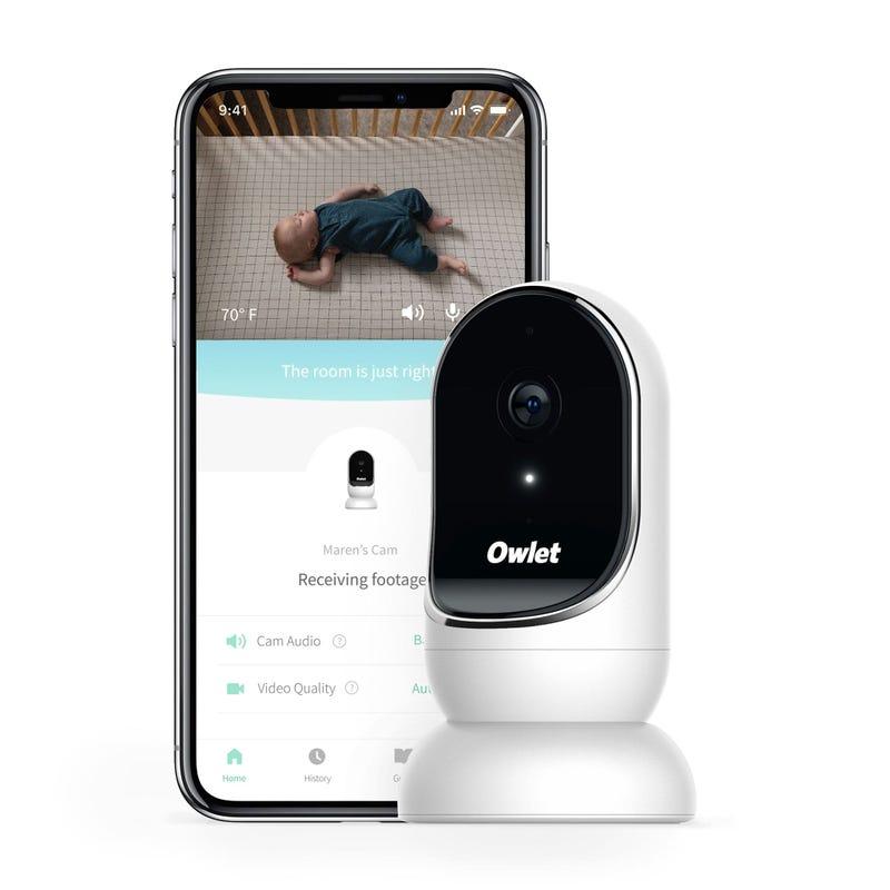 Moniteur Caméra Wi-Fi Owlet avec Vidéo HD