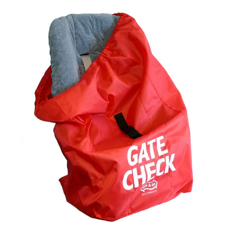 Gate Check Transport Bag For Car Seats