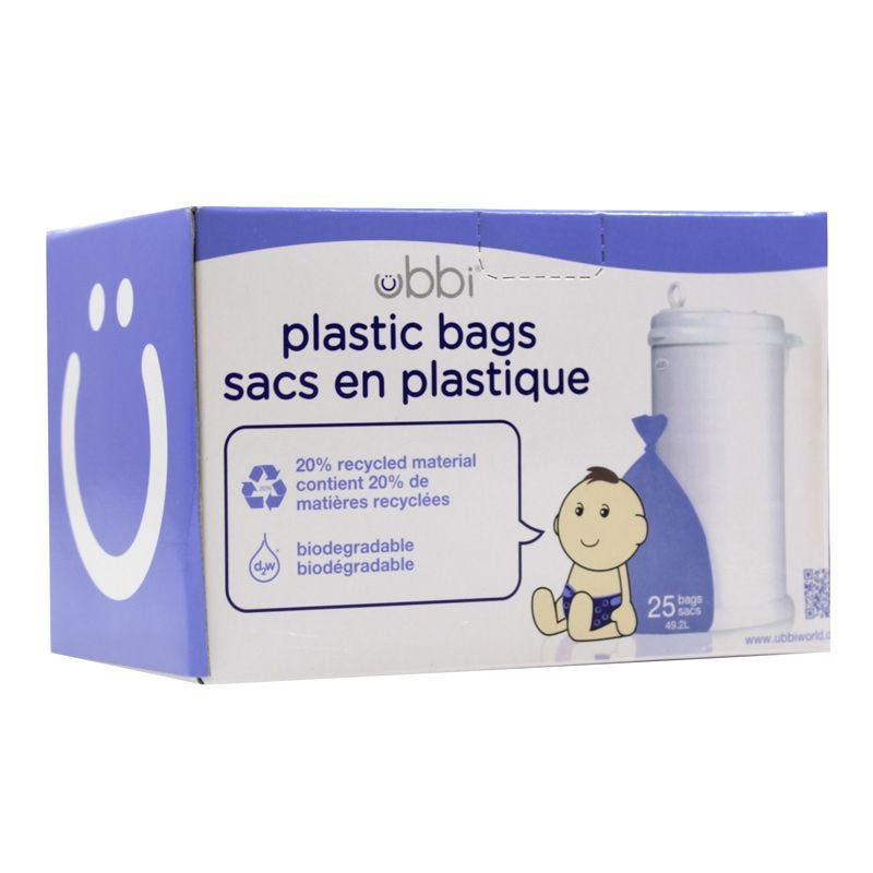 Ubbi Bags For Diaper Pail