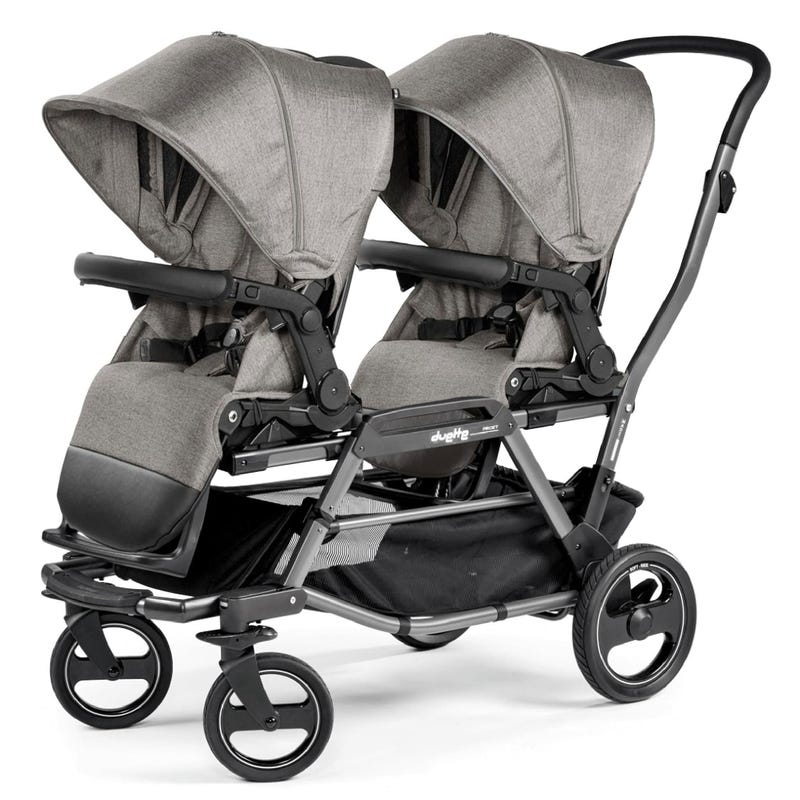 Duette Piroet Double Stroller - City Grey