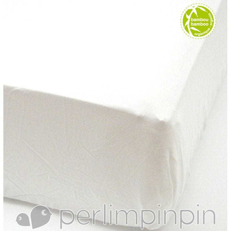 Crib Bamboo Fitted Sheet - Ivory