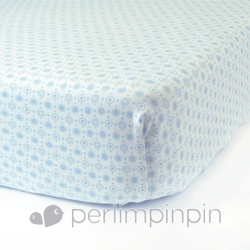 Crib Cotton Interlock Fitted Sheet