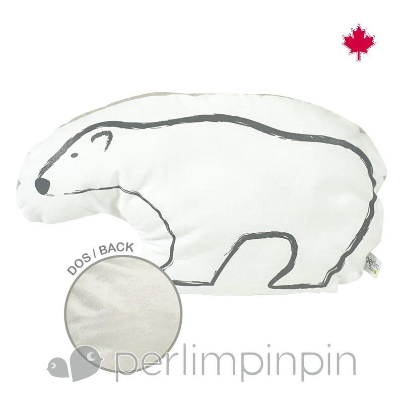 Shaped Cushion -Bear Head