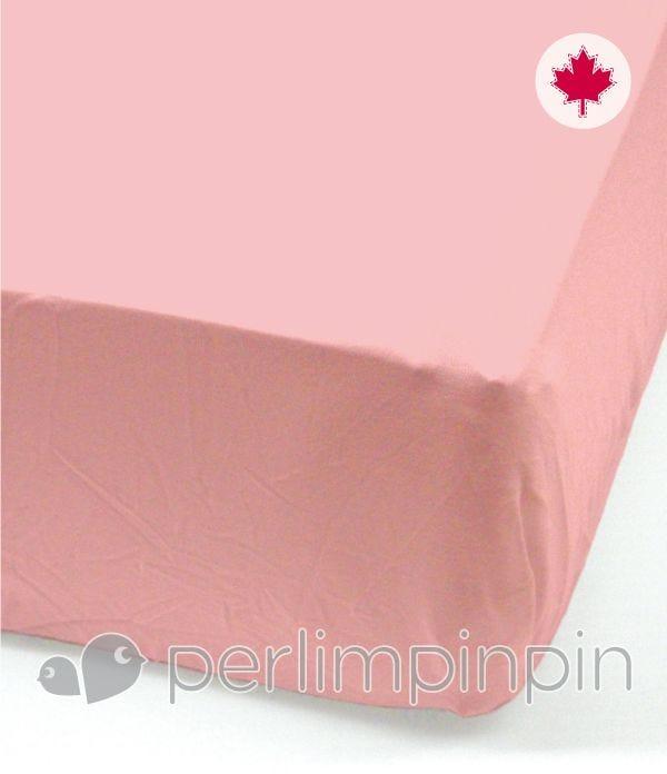Crib Flat Sheet - Strawberry