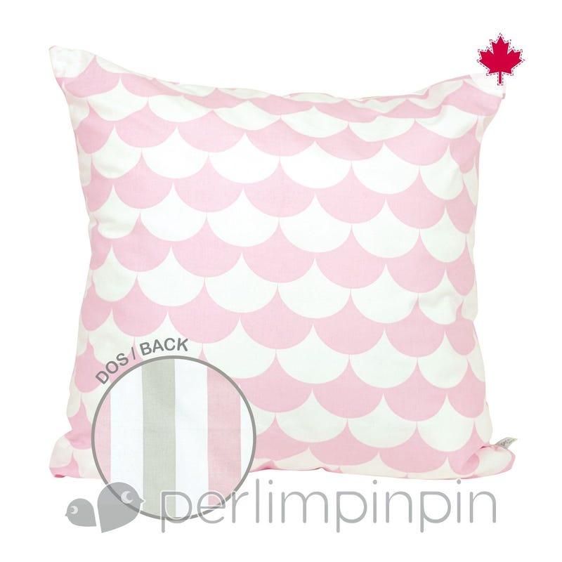 Reversible Large Cushion Feston  - Rose
