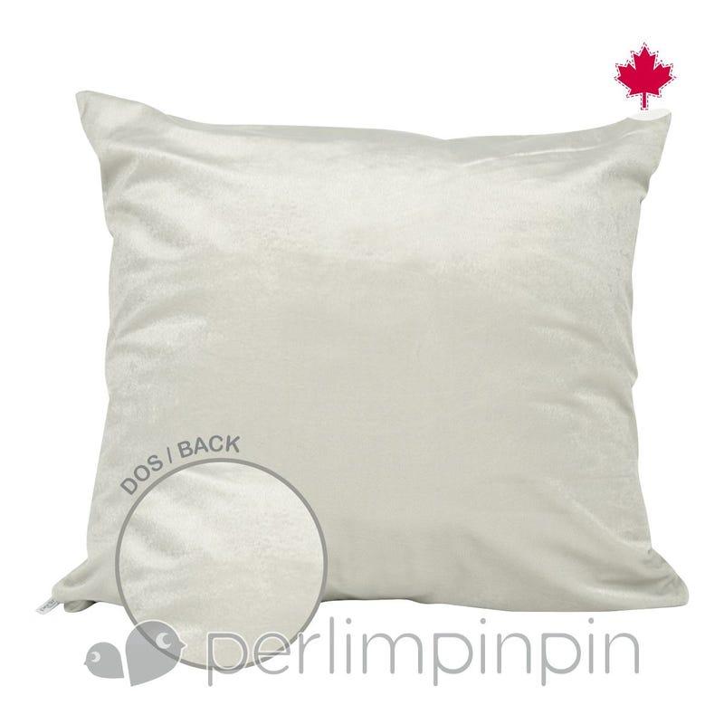 Reversible Large Cushion - Taupe