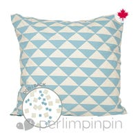 Reversible Large Cushion Triangle -Blue