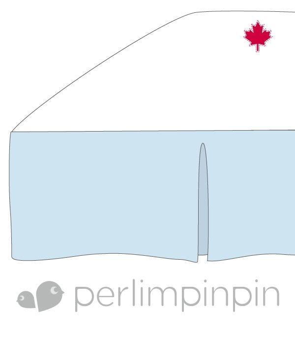 Bed Skirt - Blue