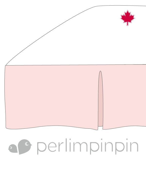 Bed Skirt - Pink