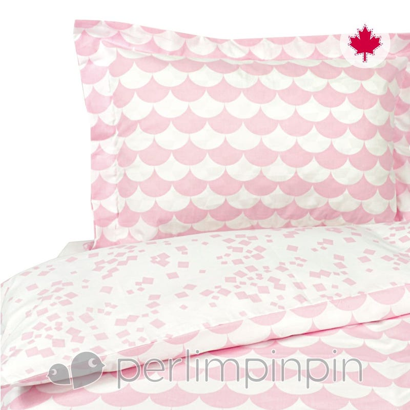Double Duvet Cover - Pink