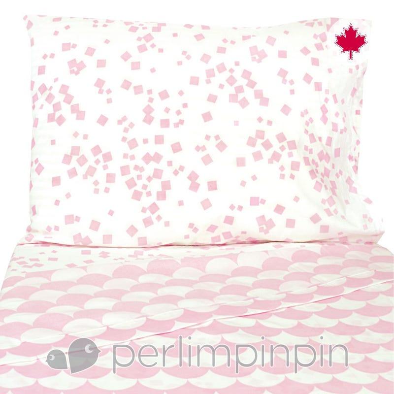 Twin Sheet Set - Pink