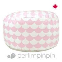 Ottoman  Scallops - Pink
