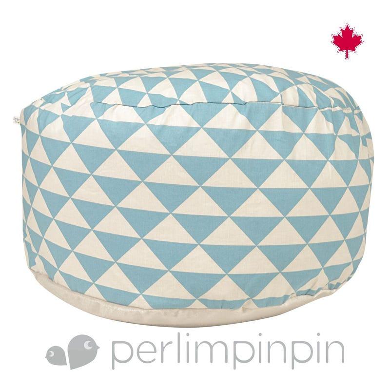 Ottoman Triangle - Blue