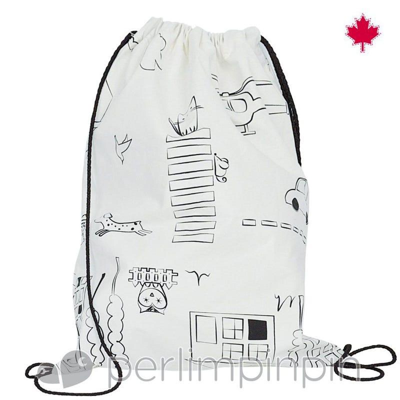 Carryall Bag - Color Me White