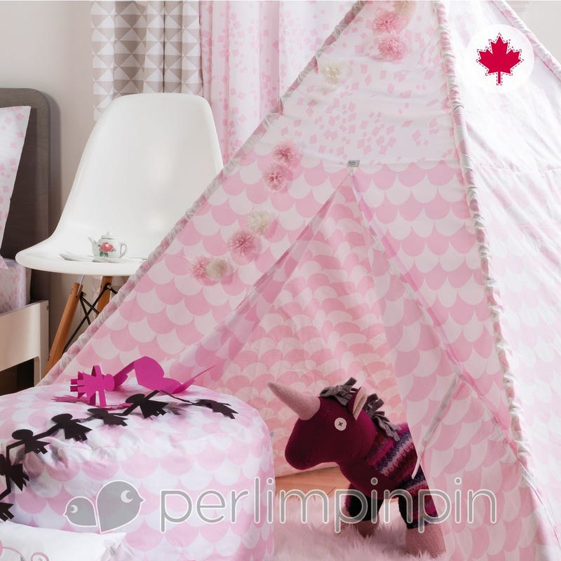Housse Tipi Feston - Rose
