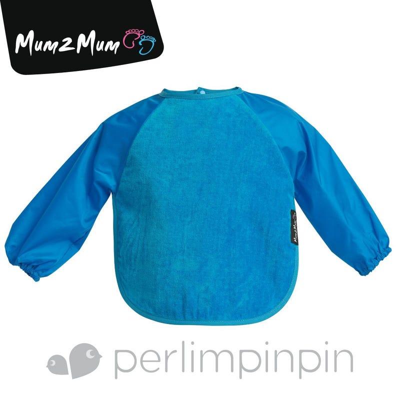 Wonder  Bib With Sleeve 6-18month - Blue