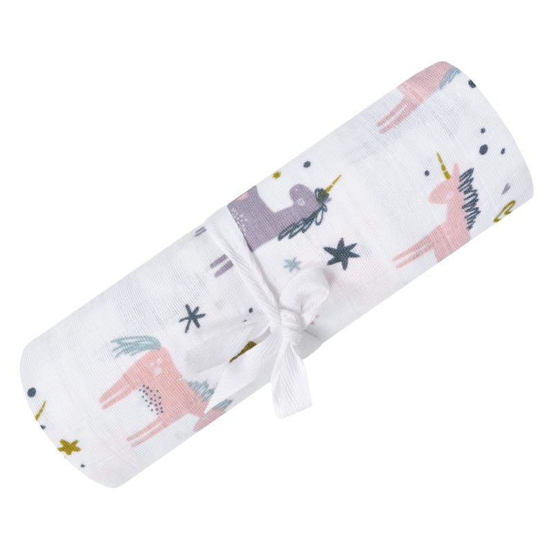 Muslin Swaddle Unicorns
