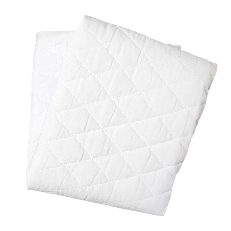 Crib Mattress Cover - White