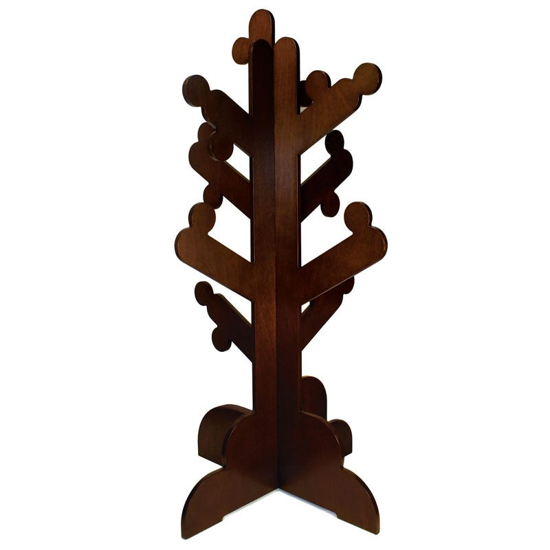 Clothes Tree Hanger - Brown
