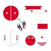 Étiquettes Personnalisées Mini - Canada Édition Spéciale