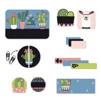 Étiquettes Essentiel - Cactus