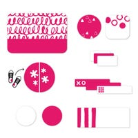 Essential Labels - Pink patterns