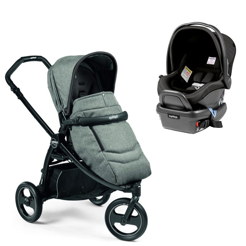Book Scout Stroller and Primo Viaggio Car Seat - Atmosphere