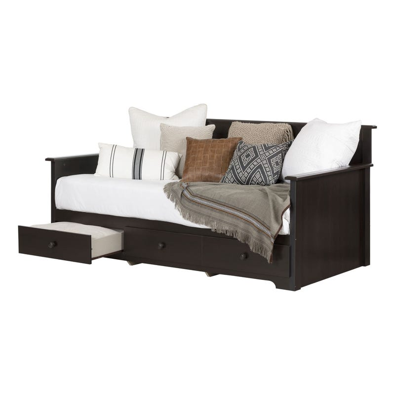 Summer Breeze Daybed with Storage - Chocolate