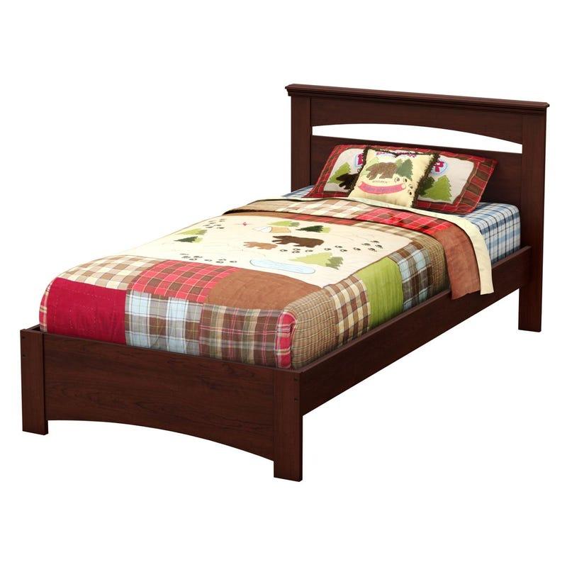 Libra Twin Bed Set - Royal Cherry