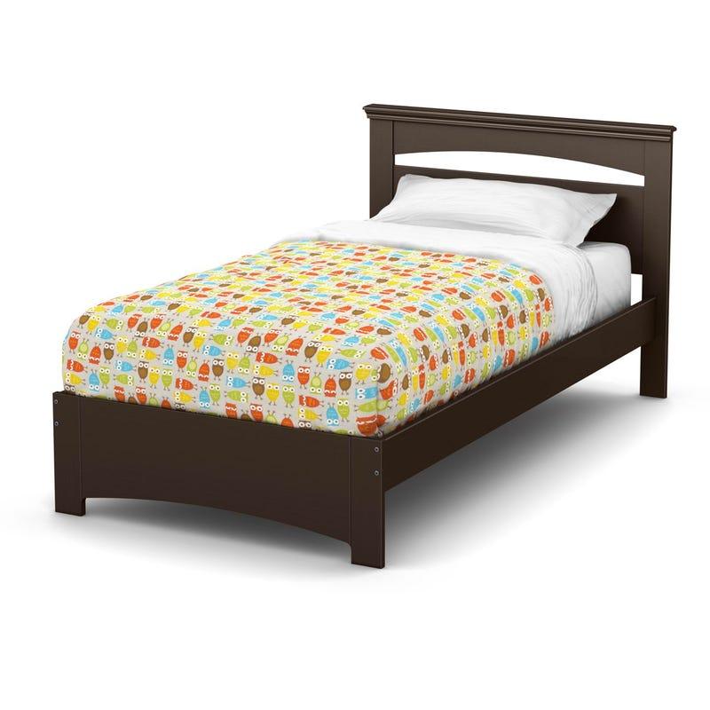 Libra Twin Bed Set - Chocolate