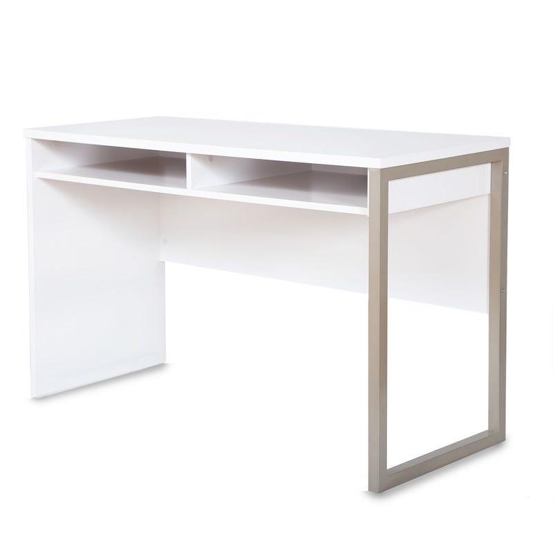 Bureau de Travail Interface - Blanc Solide