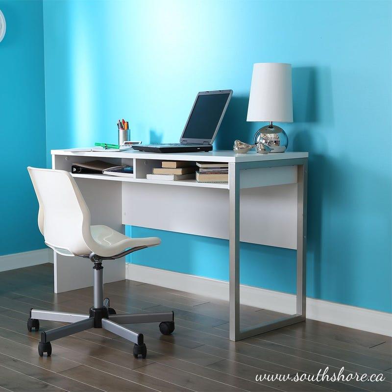 Interface Desk - Pure White