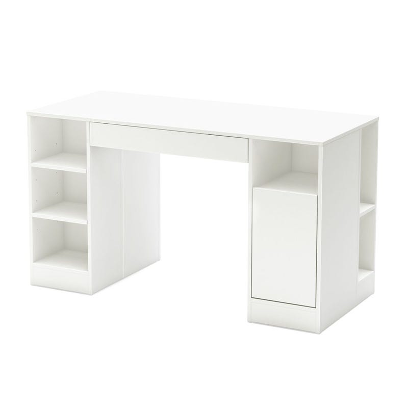 Table de Travail Crea - Blanc Solide