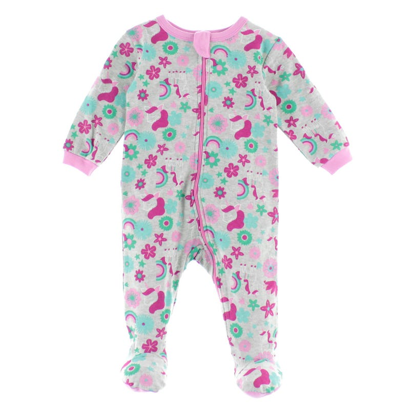 Unicorn Pajamas 0-24m