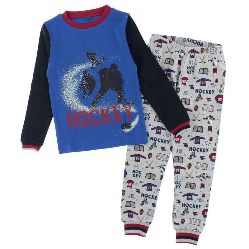 Hockey Pajamas 2-14y