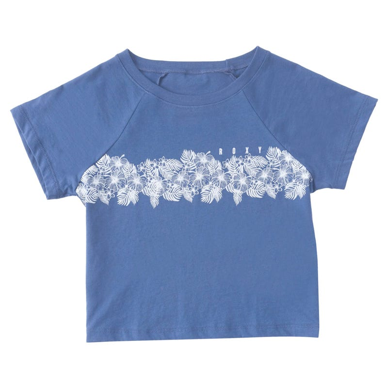 Floral Stripe T-shirt 8-14y