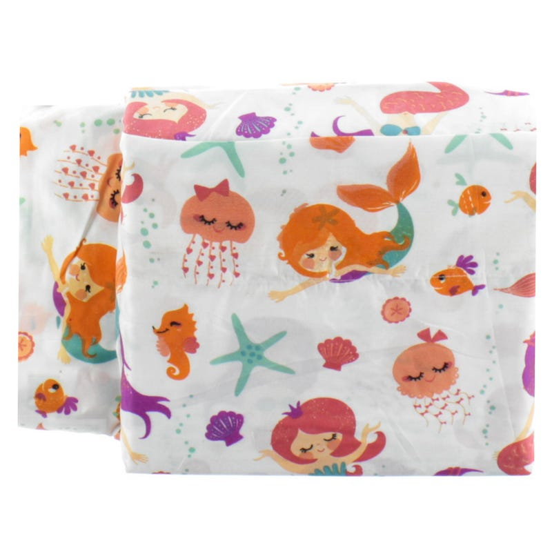 Twin Sheet Set - Mermaid