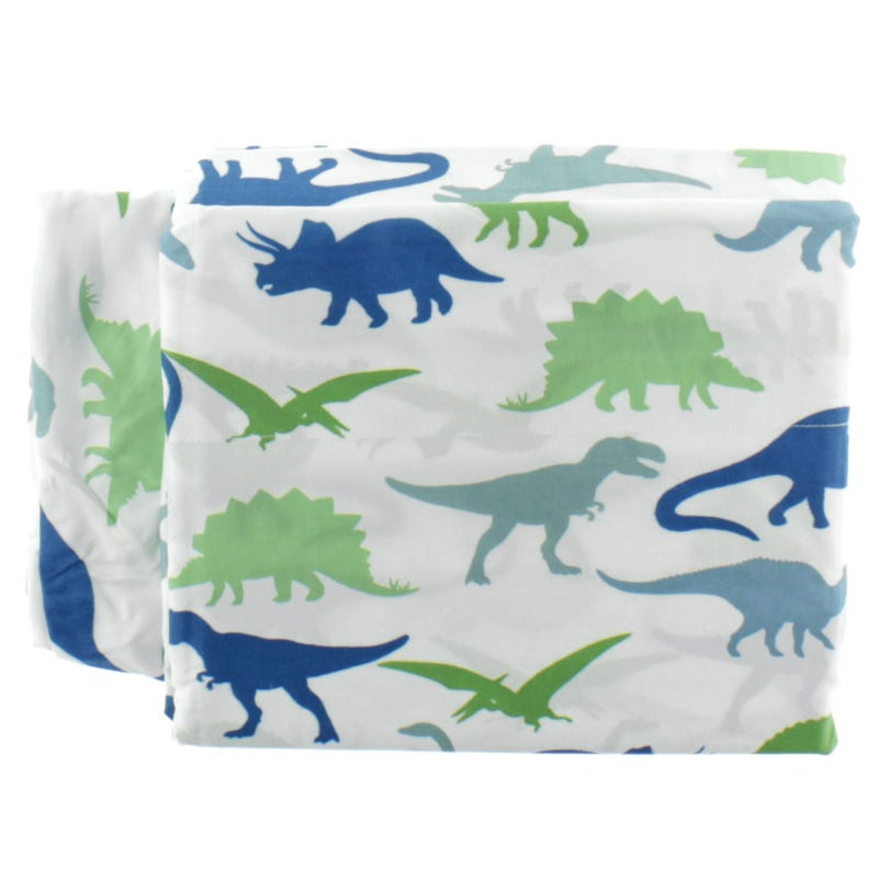 Ensemble Draps Lit Simple - Dinosaure