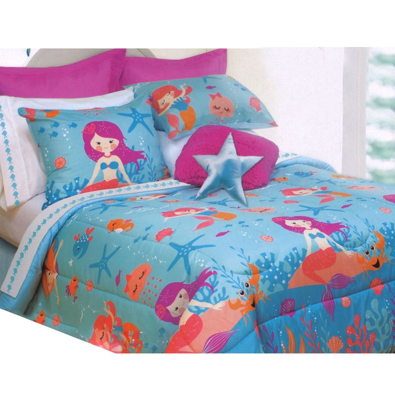 Twin Comforter - Mermaid
