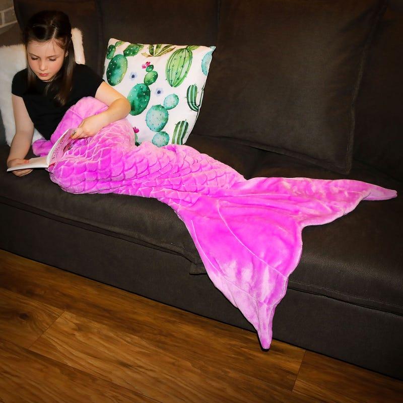 Blanker Mini Mermaid - Purple